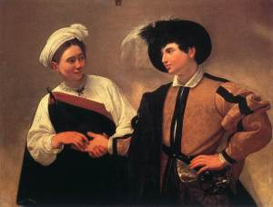 Caravaggio's The Fortune Teller